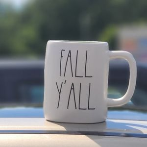 Rae Dunn Fall Y'all Coffee Cup